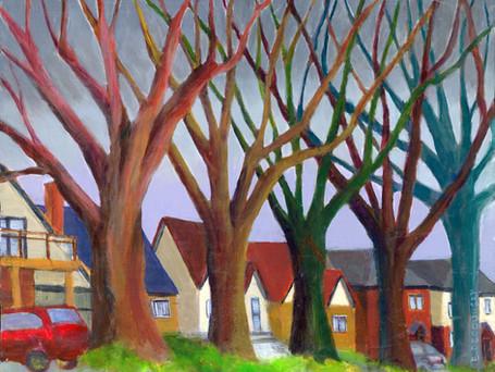 Trees on Glencairn Avenue