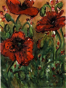 Poppies 6 - SOLD