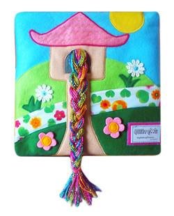 No. 008 - Rapunzel (rainbow hair)