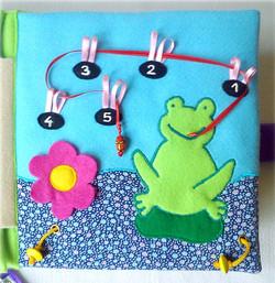 No. 046 - Frog and flies (boy)