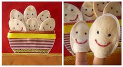 No. 030 - Eggs (finger puppets)
