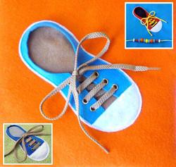 No. 053 - Tie a Shoe