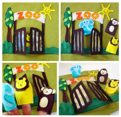 No. 029 - ZOO (finger puppets)