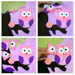No. 087 - Owl puzzle