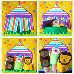 No. 027 - Circus (finger puppets)