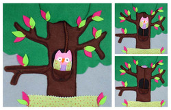 No. 088 - Owl on the branch