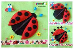 No. 001 - Ladybug Zipper