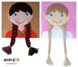 No. 012 - Knitting Hair Braids