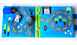 No. 005 - Traffic Road with car toy