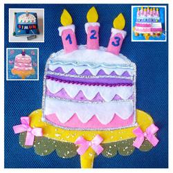 No. 044 - Birthday cake
