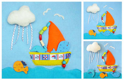 No. 002 - Sailing boat
