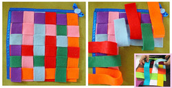 No. 099 - Weaving strips
