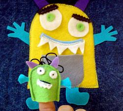 No. 033 - Monster (finger puppet)
