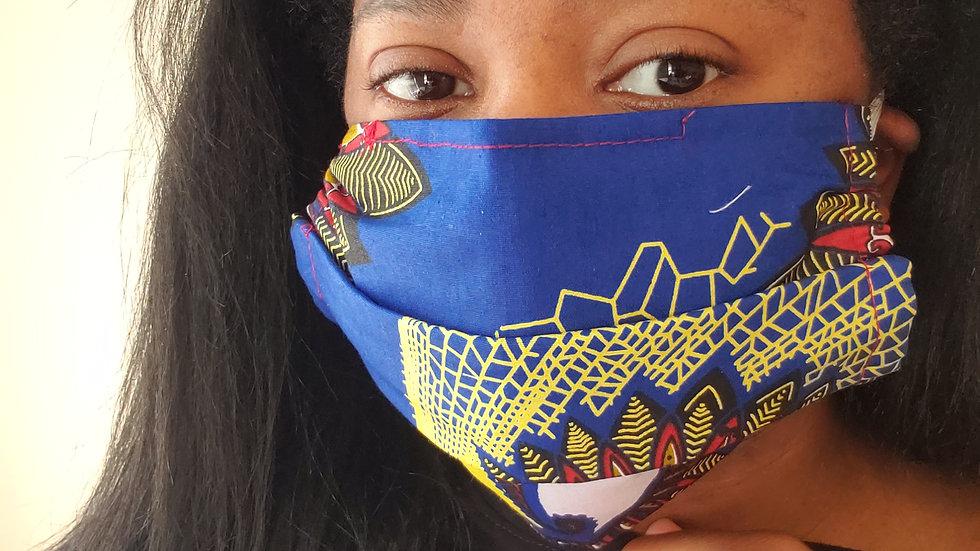 """Tribe+"" Print w/ Filter Pocket Face Mask"
