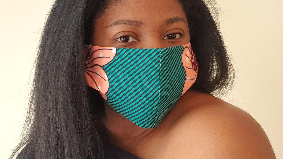"""Loren"" Print Face Mask"
