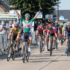 Ploegenvoorstelling en eerste rit Ronde van Vlaams-Brabant