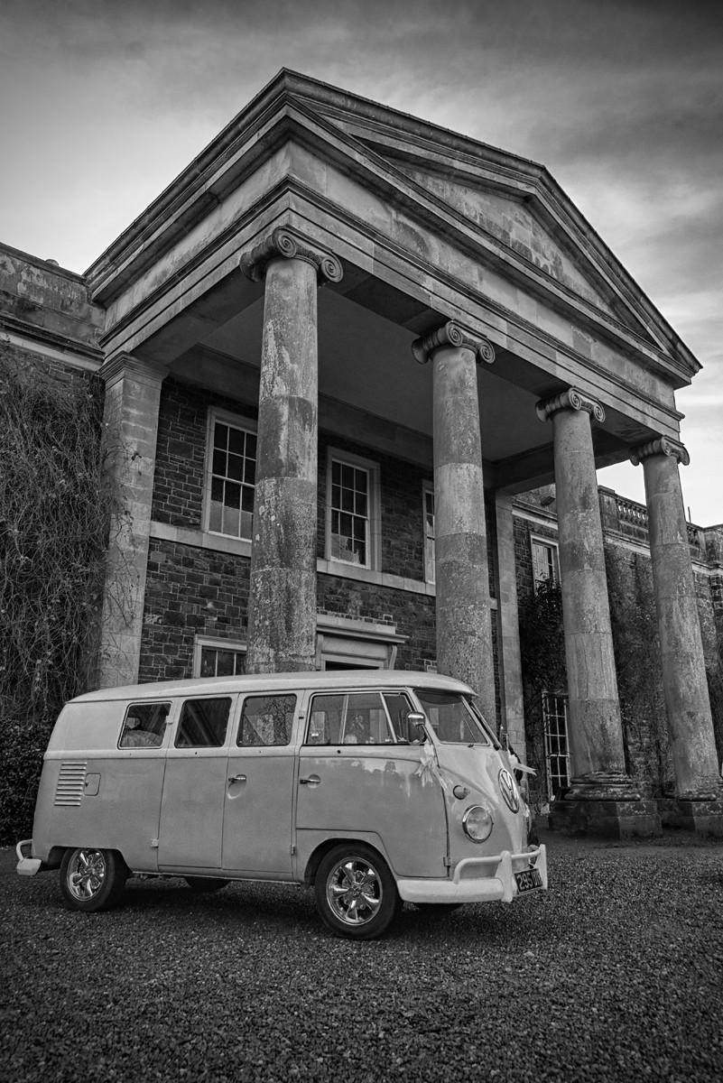 MONO - VW Wedding by Jonny Clark ( 7 marks)