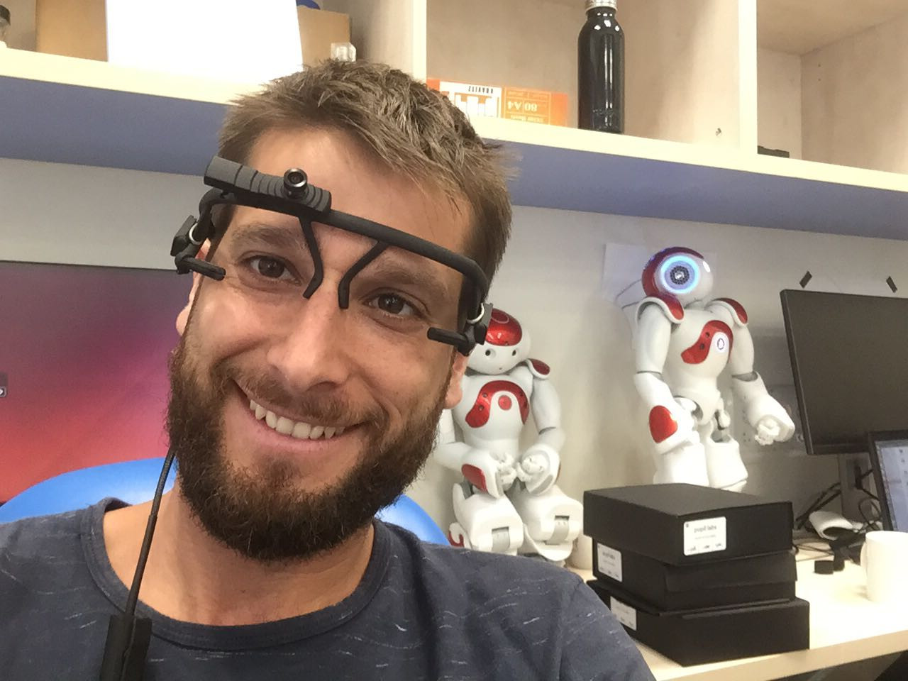 new eye tracker on our lab