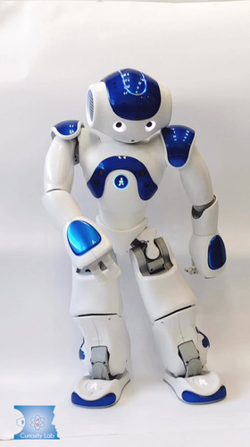 our robot start to dance disco