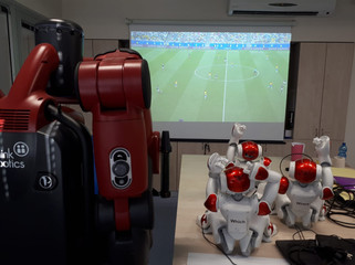 Watching the World Cup together