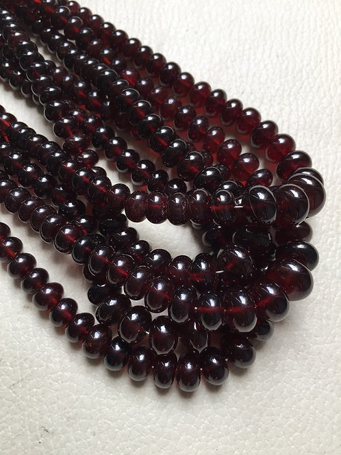 "Hessonite 16""  1 Strand  Beads  Size 4-11 MM Approx"