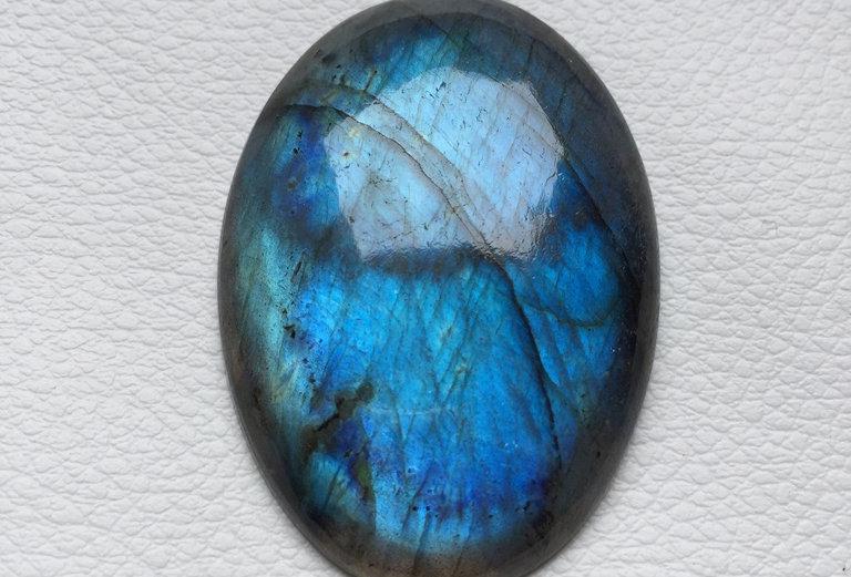 Labradorite Cabochon 1 Piece Size: 49 MM Approx