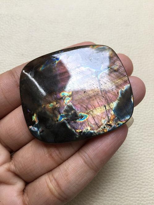 Spectrolite Cabochon 1 Piece Size 47 MM Approx