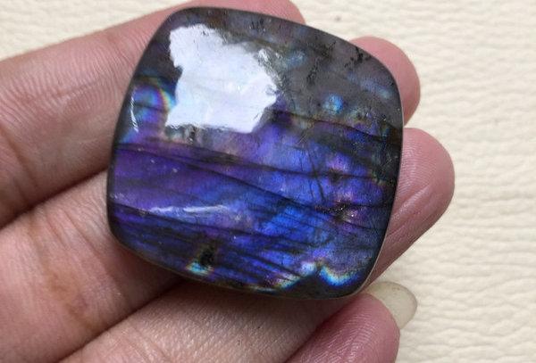 Labradorite Cabochon 1 Piece Size: 32 MM Approx