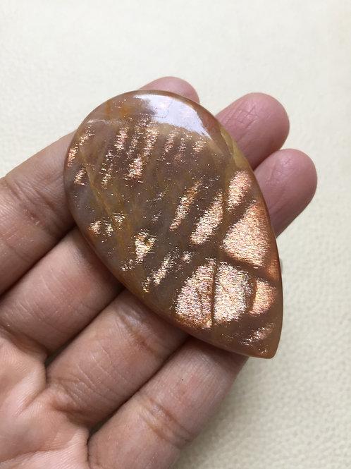 Sunstone Cabochon 1 Piece Size 60 MM Approx