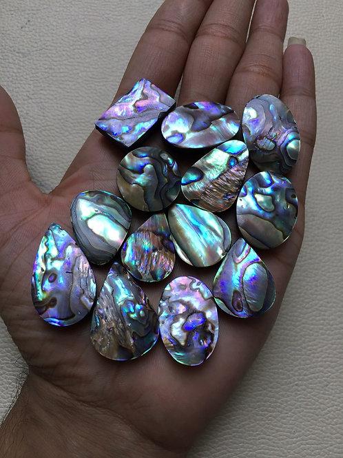 Gemstone Cabochon 13 Piece Size 31-27 MM Approx