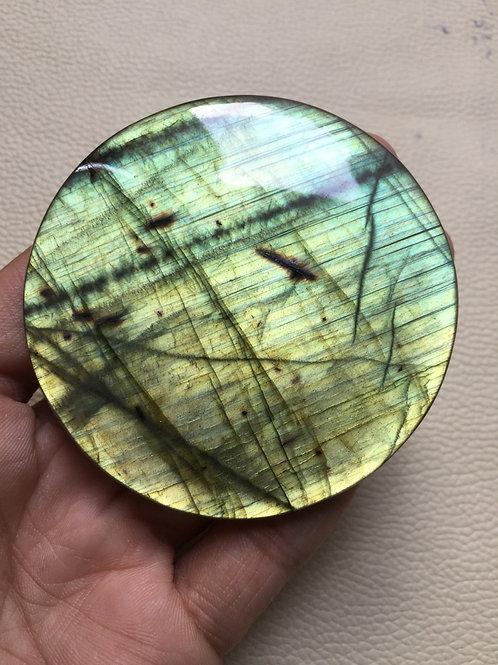 Labradorite Cabochon 1 Piece Size 70 MM Approx