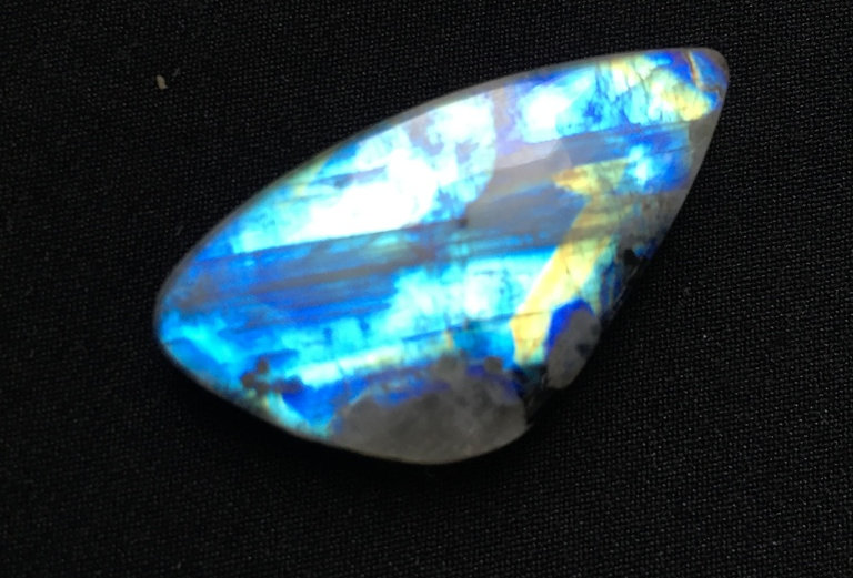 Rainbow Moonstone Cabochon 1 Piece Size: 39 MM Approx