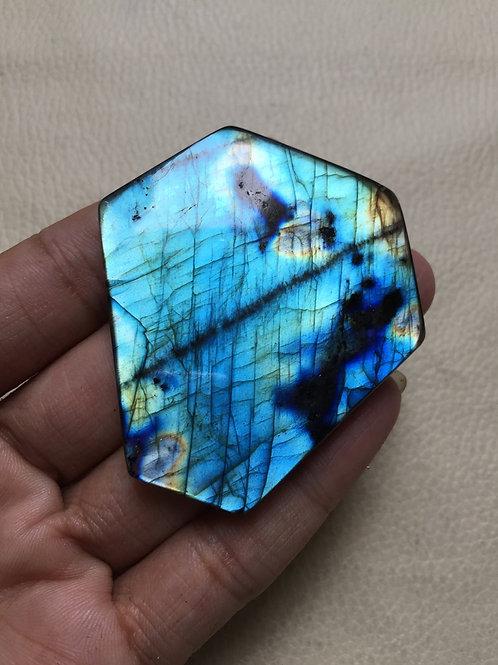 Labradorite Cabochon  1 Piece Size 55 MM Approx