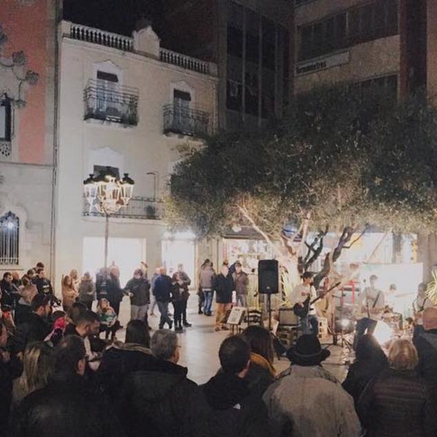 Concert a La llotja del disseny de Granollers (2019)