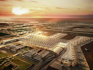 Trade center with an investment worth 6 billion euros located near Istanbul's third airport