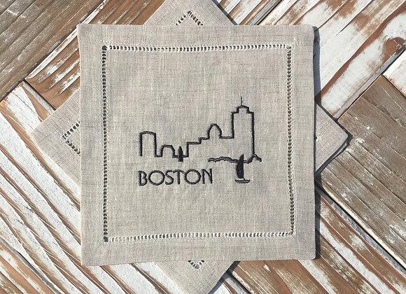 City Skyline - BOSTON
