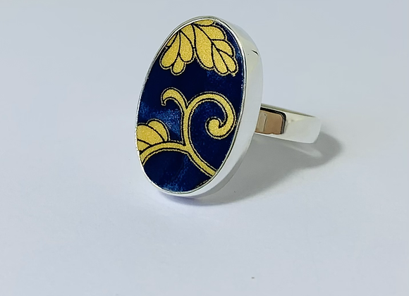 Anel cerâmica