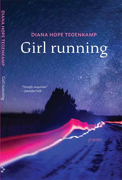 Girl running by Diana Hope Tegenkamp