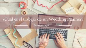 ¿Cuál es el trabajo de un Wedding Planner?