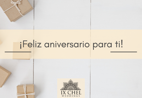 ¡Feliz aniversario para ti!
