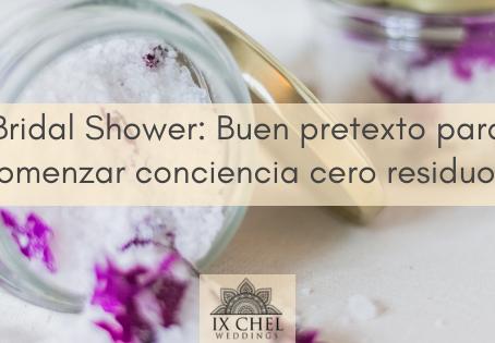 Bridal Shower: Recuerditos Cero Residuos.