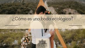 ¿Cómo es una boda ecológica?
