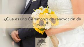 ¿Qué es una Ceremonia de renovación de votos?