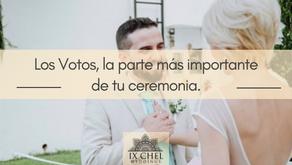 Los Votos, la parte más importante de tu ceremonia.