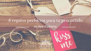 8 Regalos perfectos para tu prometido en San Valentín