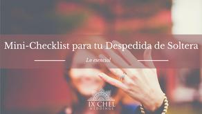 Mini-Checklist para tu Despedida de Soltera