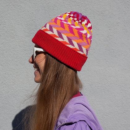 czapka w różne kąty
