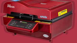 مراجعة لألة الطباعة الحرارية sublimation vacuum 3D