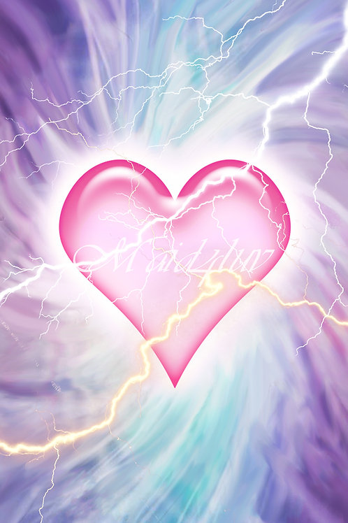 Attunement and Lineage Certificates for The Sacred Heart of Twinflames Reiki TM