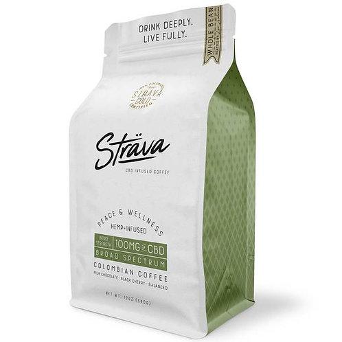 STRAVA CBD COFFEE - 4MG CBD/SERVING - MEDIUM ROAST
